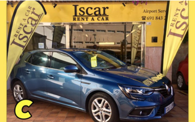 Iscar Rent a Car - GRUPO C ( Megane)