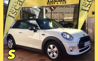 Iscar Rent a Car - GRUPO S ( Mini cabrio)