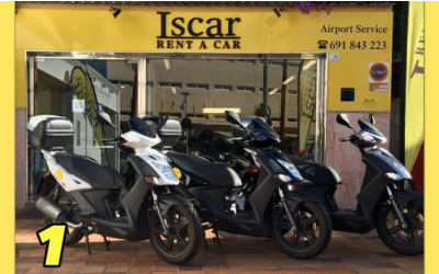 Iscar Rent a Car - GRUPO 1 (Motos)