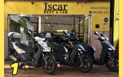 Iscar Rent a Car - GRUPO 1 (Motos)