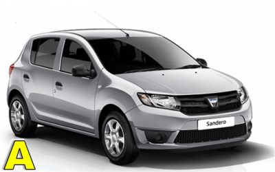 Iscar Rent a Car - GROUP A - Dacia Sandero or similar