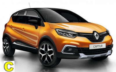 Iscar Rent a Car - GROUPO C - Renault Megane, Captur or similar