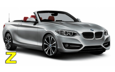 Iscar Rent a Car - GROUP Z - BMW Serie 2 Cabrio