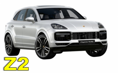 Iscar Rent a Car - GROUP Z2 - Porsche Cayenne